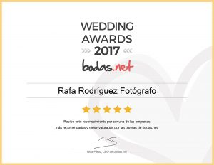 rafa rodriguez guanyador Wedding Awards 2017